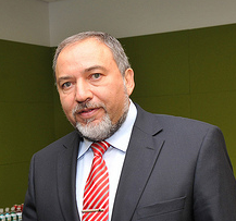 Israel's previous Foreign Minister Avigdor Lieberman