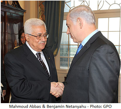 Abbas, Netanyahu