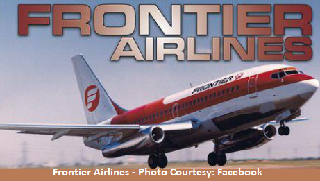 Frontier Airlines - Photo Courtesy by Facebook