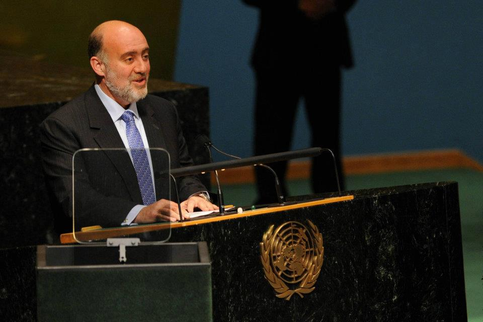 Israel's ambassador to the United Nations, Ron Prosor