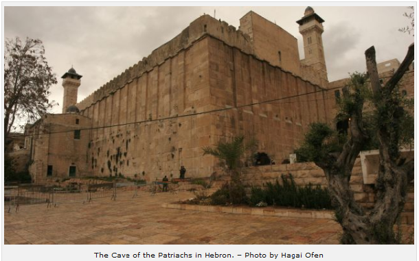 The Cave of the Patriachs in Hebron. – Photo: Hagai Ofen