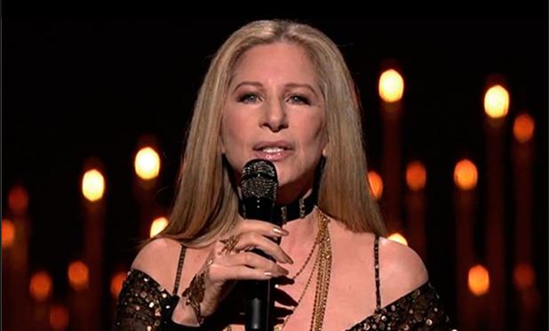 Barbra Streisand - Screenshot from Facebook page