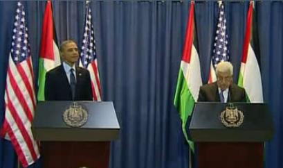 Obama with Abbas in Ramallah