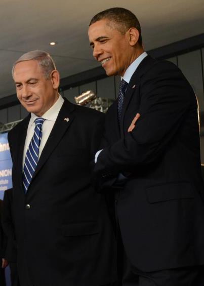 Netanyahu & Obama - Photo by Kobi Gideon