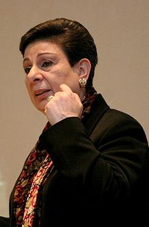 Hanan Ashrawi - Photo courtesy Wikimedia Commons