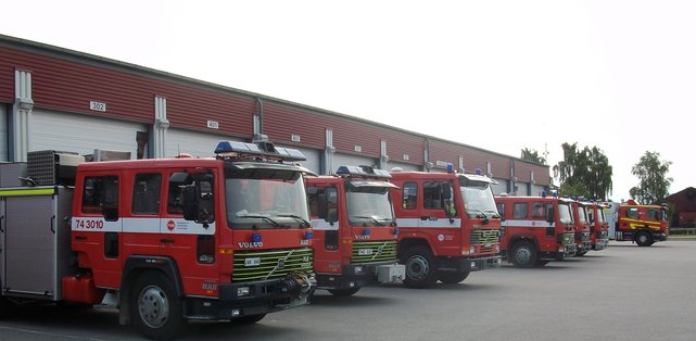 Israel's Fire & Rescue Services an the ready - Photo Courtesy, Israel's Fire & Rescue Services