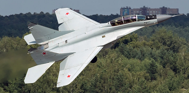 Russian Air Force Mikoyan-Gurevich MiG-29M-2 - Photo courtesy Wikimedia Commons
