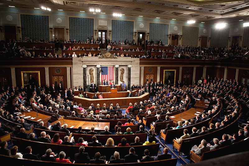 United States House of Representatives - Photo Courtesy Wikimedia Commons
