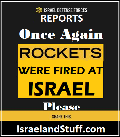 Fired at Israel