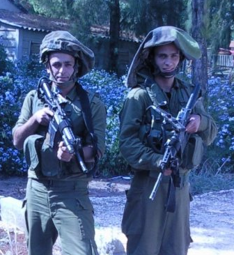 IDF soldiers from Cherev unit protecting Kibbutz on Lebanese border - Photo: IsraelandStuff/PP