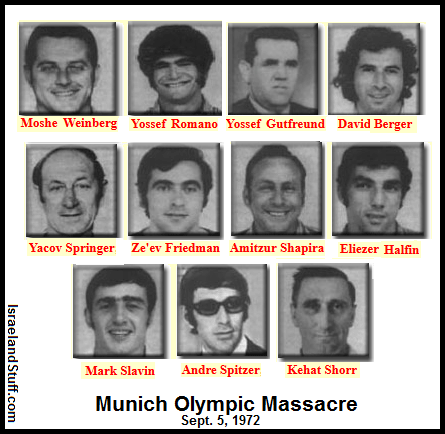 munich massacre in the 1972 olympics The munich massacre – on september 5, 1972, the world woke up to images of the munich olympics in the throes of a hostage crisis two israeli athletes had been killed and nine taken hostage.