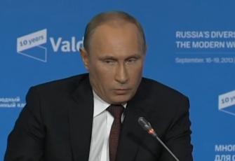 Russian President Vladimir Putin - Screenshot