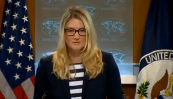 Marie Harf, a State Department spokeswoman - Screenshot