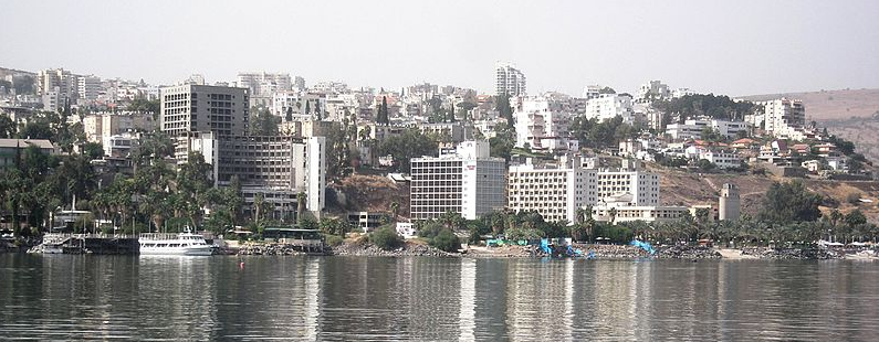 Tiberias lakefront - Photo courtesy by Wikimedia Commons