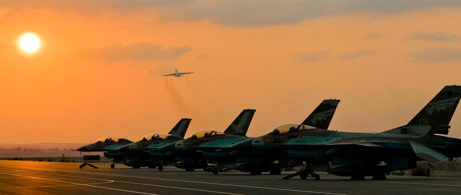 Israel Air Force - Phot courtesy: IDF Spokesperson's Unit
