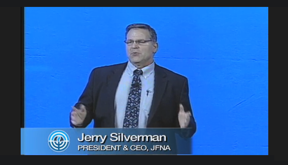 JFNA President Jerry Silverman - Screenshot