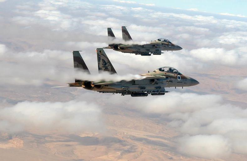 Israel Air Force F15I. Its Hebrew nickname is 'Ra'am' ('Thunder'). - Photo courtesy: IDF Spokesperson Unit