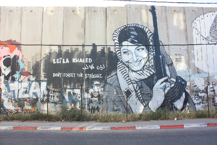 Leila Khaled is a member of the Popular Front for the Liberation of Palestine and a convicted airline hijacker who was later released in a prisoner exchange for civilian hostages kidnapped by her fellow PFLP members. Wikipedia