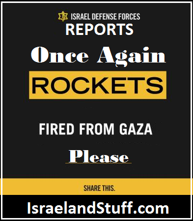 Fired from Gaza