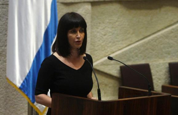 Former Labor Party MK Einat Wilf Addresses Knesset -  Photo: Facebook profile