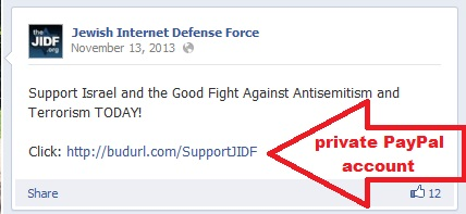 David Brotsky - JIDF - Jewish Internet Defense Force SCAM