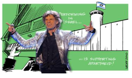 BDS Rolling Stones Facebook page