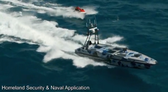 Made in Israel: The new Katana unmanned combat vessel - Screenshot