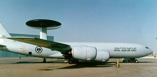 USAF AWAC sold to Saudi Arabia