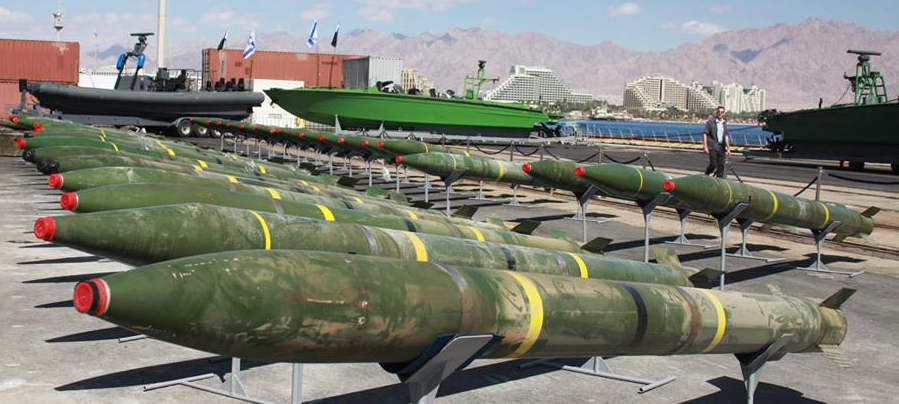 Dozens of powerful Syrian-made M-302 rockets with range of160KM  - Photo courtesy IDF Spokeperson's Unit