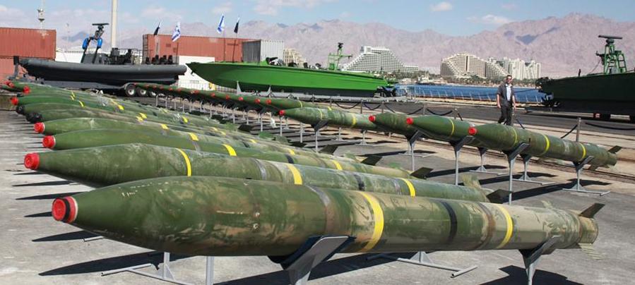 Dozens of powerful Syrian-made M-302 rockets with range of160KM  - Photo courtesy IDF Spokeperson's Unit