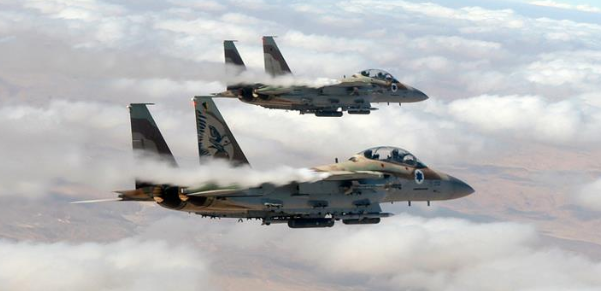 F15 I,'Ra'am' ('Thunder') A multi-purpose long-range fighter jet, mainly used for attack and interception strikes. - Photo: IDF Spokesperson's Unit