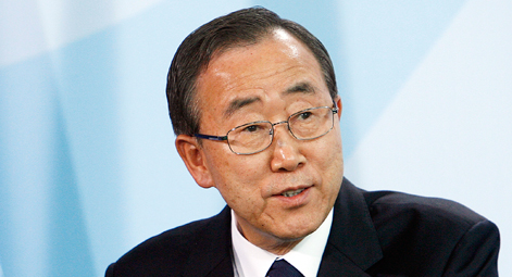 UN Secretary-General Ban Ki Moon - Photo Courtesy UN