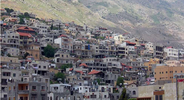 View of Druze village Majdal Shams in the Golan Heights - Photo: Wilson44691/Wikimedia Commons