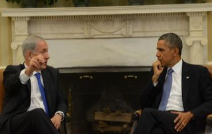 Prime Minister Netanyahu and US President Obama meet at the Oval Office, September 30, 2013.- Photo: Koby Gideon/GPO