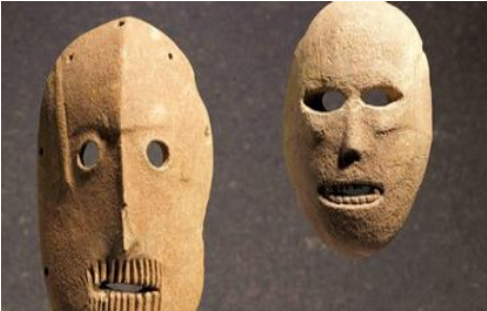 World's oldest masks Photo: Courtesy