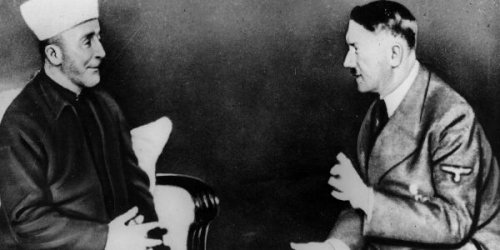 Haj Amin al-Husseini meets Hitler in Berlin - Photo: Keystone/Gettyimages