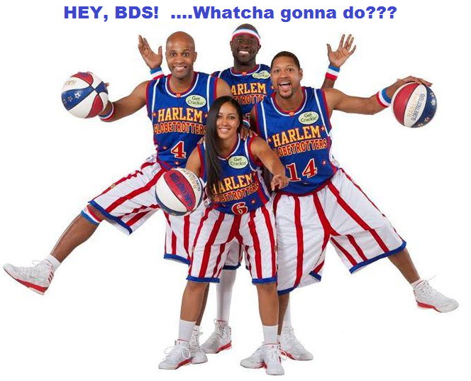 Harlem Globetrotters are Coming to Israel