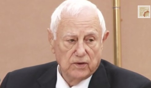 Dr. Kamel Abu Jaber, former Jordanian minister of foreign affairs - Photo from YouTube screenshot
