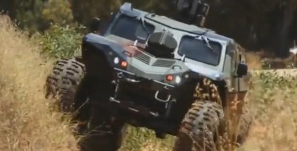 IDF's APC combatguard - Screenshot