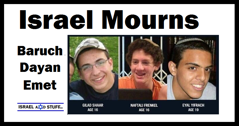 Israel Mourns - Photos of Murdered Teens: Courtesy of the Families