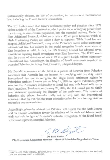 PLP letter page2