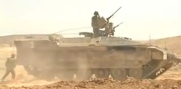IDF's Nemer APC is armed with ROWS .50 and the 7.62mm, AND active protection from Iron Fist - Screenshot