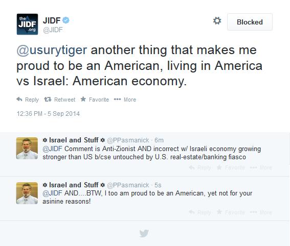 JIDF bashes Israel economy