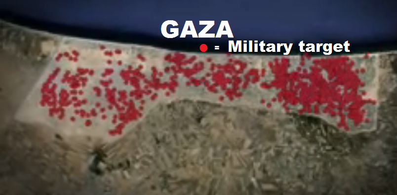 Gaza - IDF Screenshot