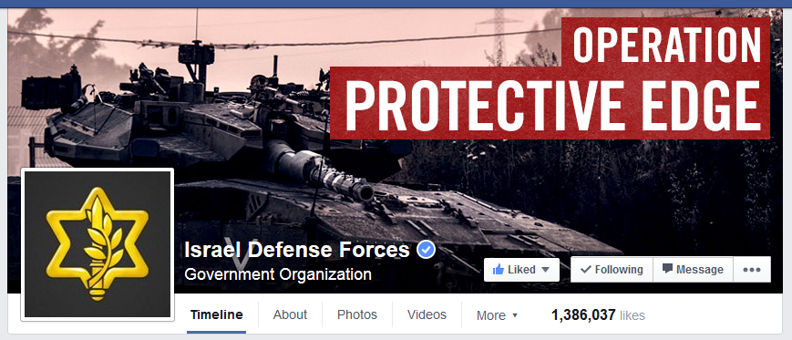 IDF Facebook Page