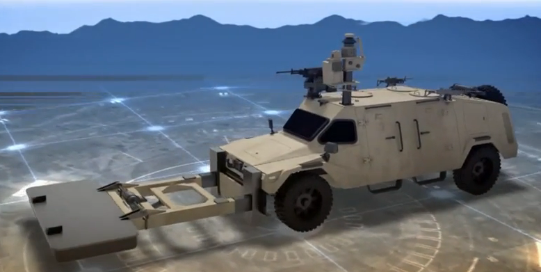 IAI CIMS - Photo: Defenseupdate YouTube screenshot