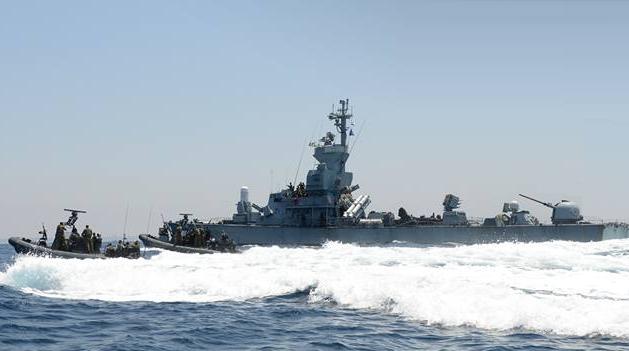 Israeli Navy - Photo courtesy IDF Spokesperson's Unit