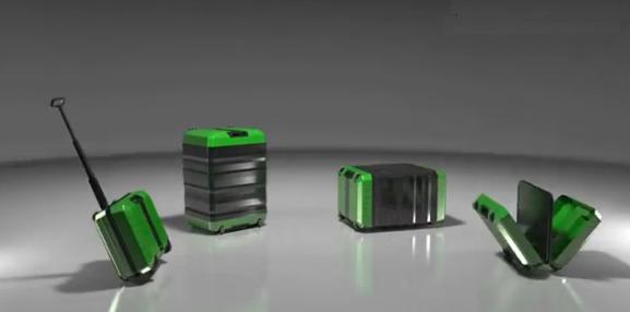 Fugu Luggage Expandable Suitcase - Screenshot