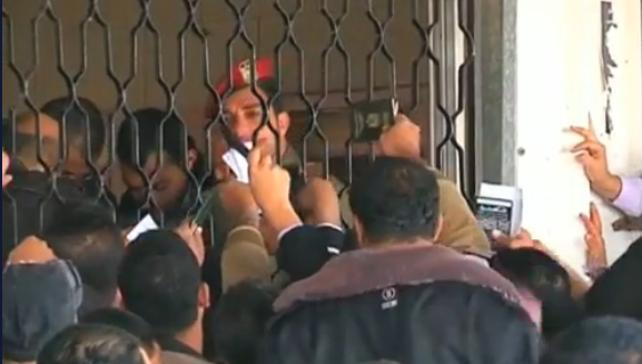 Egypt's Rafah border terminal with Hamas - Photo: i24news screenshot