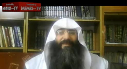 Jordanian Salafi Cleric Sheik Yassin Al-'Ajlouni - MEMRI screenshot
